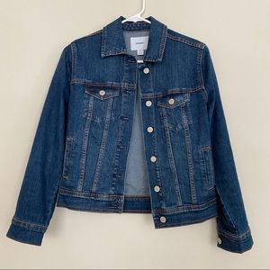 old navy. jean jacket.